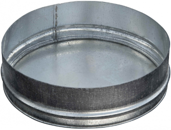 Заглушка вентиляционная 125 мм