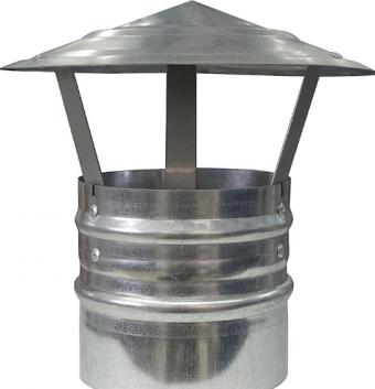 Зонт вентиляционный круглый 125 мм