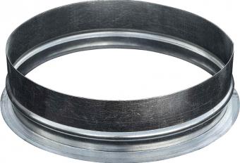 Врезка прямая круглая 125 мм