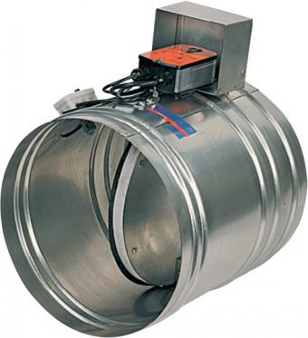 Противопожарный клапан ОКС-1М(120)-100