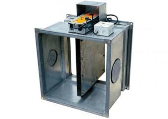 Противопожарный клапан ОКС-1М(60)-500x500