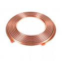 """Труба медная 1.4"""" HALCOR ASTM B280 6.35x0.76x15000 мм"""