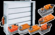 Электроприводы для вентиляции от производителя