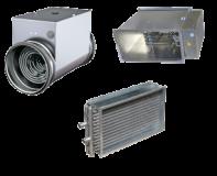 Теплообменник водяной для вентиляции и кондиционирования