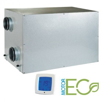 Приточно вытяжная установка Blauberg Komfort Roto EC LE400-2 S17