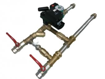 Комплект водяной обвязки для ПВВУ iClimate Vi 035
