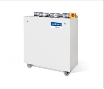 Приточно-вытяжная вентиляционная установка Komfovent Domekt-P-900-HW-DH F7