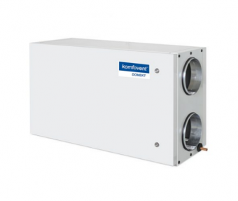 Приточно-вытяжная вентиляционная установка Komfovent Domekt-P-400-H-W-DH F7