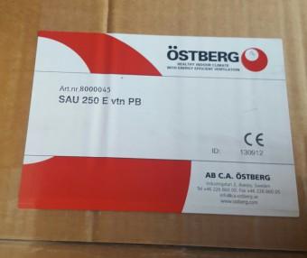 Компактная приточная установка Ostberg SAU 250 E1