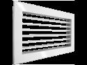 Настенная однорядная решетка Shuft 1 WA 100x100
