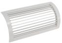 Решетка для круглых воздуховодов РВ 100x250