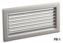 Настенная решетка РВ-1 (100x450)