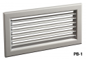 Настенная решетка РВ-1 (150x100)