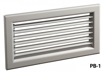 Настенная решетка РВ-1 (100x500)