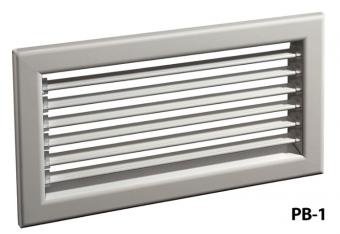 Настенная решетка РВ-1 (500x500)