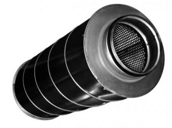 Шумоглушитель круглый CSA 630/900