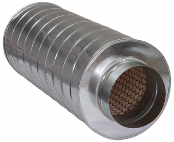 Шумоглушитель круглый ГТК 125-600