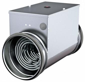 Канальный электронагреватель PBEC 100-1.8