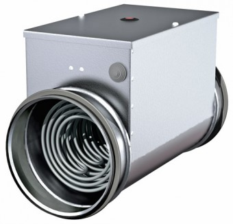 Канальный электронагреватель PBEC 125-3.6