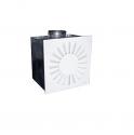Воздухораспределитель вихревой 2ВПВ-С 450x450-16