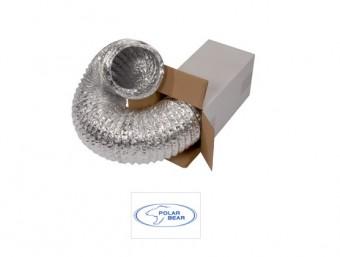 Гибкий неизолированный воздуховод Aluduct 254 мм
