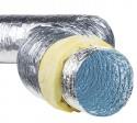Воздуховод гибкий теплоизолированный алюминиевый Isoafs-Alushine 127 мм