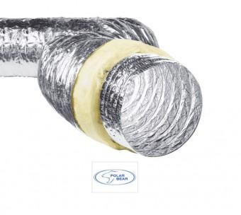 Воздуховод гибкий теплоизолированный Isoduct 160 мм