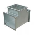 Тройник вентиляционный прямоугольный 400x150