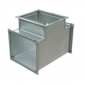 Тройник вентиляционный прямоугольный 600x400