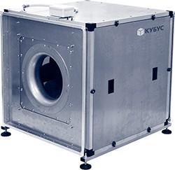 Вентилятор в изолированном корпусе КУБУС 450x450 B EC1