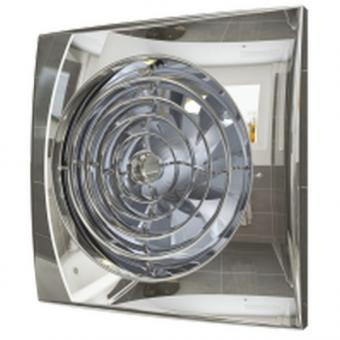 Вентилятор осевой с обратным клапаном ERA AURA 4C Chrome D100