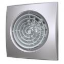 Вентилятор осевой с обратным клапаном ERA AURA 4C Gray metal D100