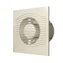 Вентилятор осевой с обратным клапаном ERA SLIM 4C Ivory D100