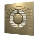 Вентилятор осевой с обратным клапаном ERA SLIM 4C Gold D100