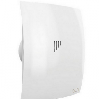 Вентилятор осевой с обратным клапаном ERA BREEZE 4C Matt white D98