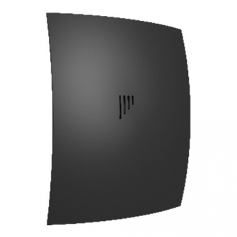 Вентилятор осевой с обратным клапаном ERA BREEZE 4C Matt black D98