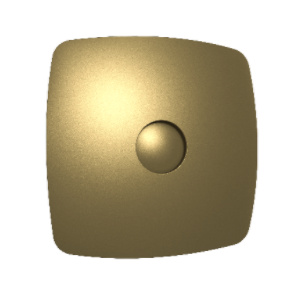 Вентилятор осевой с обратным клапаном ERA RIO 5C Champagne D123