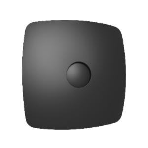 Вентилятор осевой с обратным клапаном ERA RIO 5C Black design D123