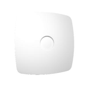 Вентилятор осевой с обратным клапаном ERA RIO 5C White design D123