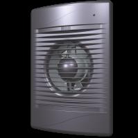 Вентилятор осевой с обратным клапаном ERA STANDARD 4C Dark gray metal D100