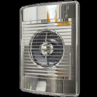 Вентилятор осевой с обратным клапаном ERA STANDARD Chrome 5C D125