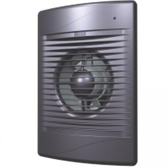 Вентилятор осевой с обратным клапаном ERA STANDARD Dark gray metal 5C D125