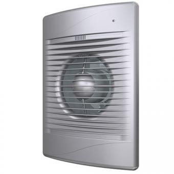 Вентилятор осевой с обратным клапаном ERA STANDARD 4C Gray metal D100