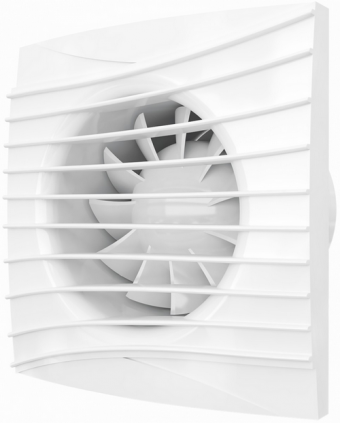 Вентилятор осевой с обратным клапаном ERA SILENT 4C Ivory D100