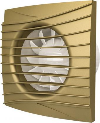 Вентилятор осевой с обратным клапаном ERA SILENT 5C Сhampagne D125