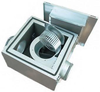 Вентилятор в изолированном корпусе Ostberg IRE 125 B1