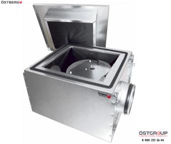Вентилятор в изолированном корпусе Ostberg IRE 630 A3 ErP