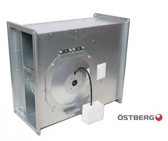 Вентилятор Ostberg RK 400x200 C3