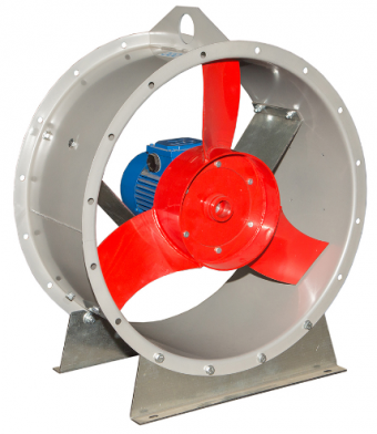 Вентилятор осевой ВО 06-300-5.0 (0.55 кВт)