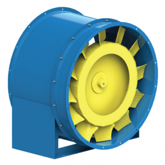 Вентилятор осевой 30-160-8.0 (5.5 кВт)